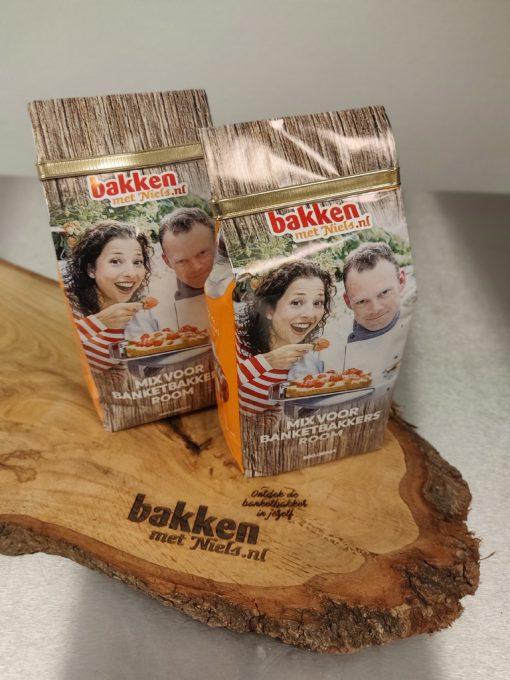 Mix voor banketbakkersroom voordeel Bakken met Niels 1 kilo