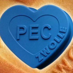 Bakvorm PEC Zwolle Donker blauw