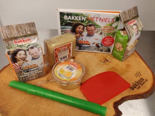 startpakket receptenboek Bakken met Niels