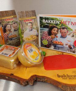 startpakket-boek Bakken met Niels