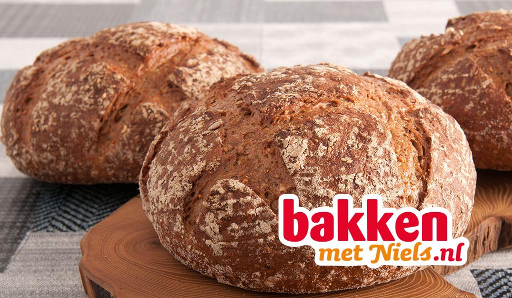 Basisrecept Honing Spelt brood