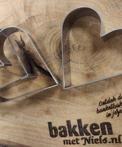 Bakvorm hart 20 x 75mm - Bakken met Niels