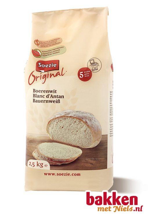 Boerenwit brood Bakken met Niels
