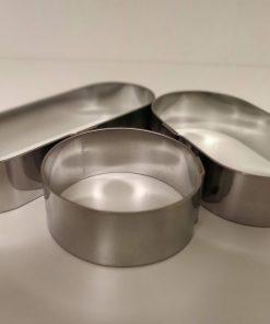 Bakvormen en ringen van Bakken met Niels
